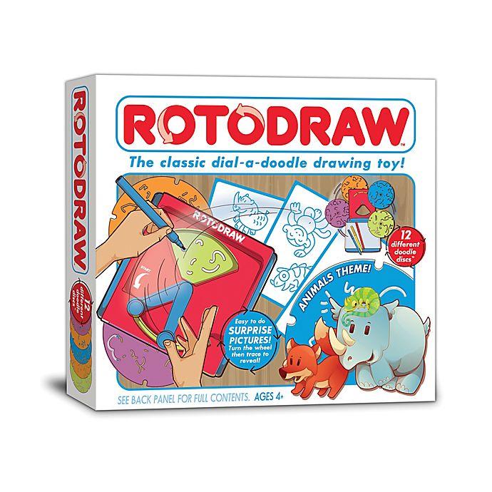 Alternate image 1 for Kahootz Animals Rotodraw Activity Kit
