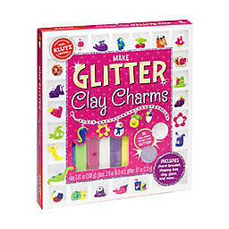 Klutz® Make Glitter Clay Charms
