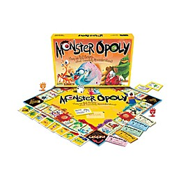 Late For The Sky Monster-opoly Game