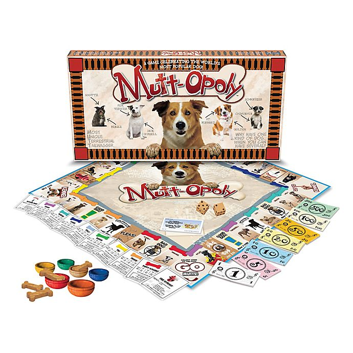 Alternate image 1 for Late For The Sky Mutt-opoly Game