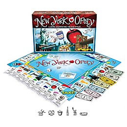 Late For The Sky New York-opoly Game