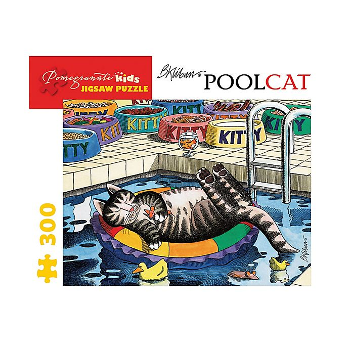 Alternate image 1 for B. Kliban Pool Cat 300-Piece Puzzle