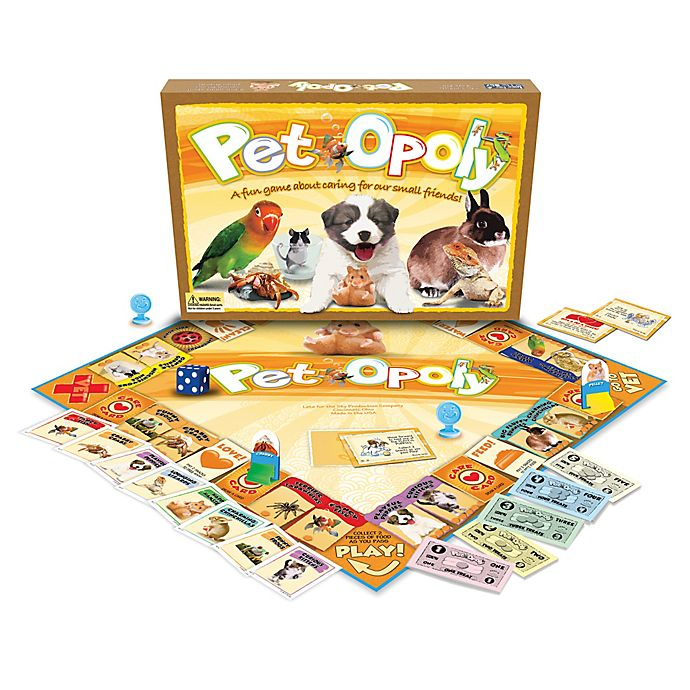 Alternate image 1 for Late For The Sky Pet-opoly Game