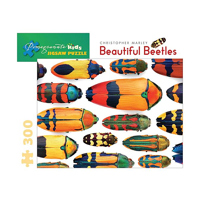 Alternate image 1 for Christopher Marley 300-Piece Beautiful Beetles Puzzle