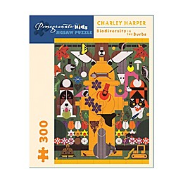 Charley Harper 300-Piece Biodiversity in the Burbs Jigsaw Puzzle