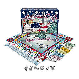 Late For The Sky America-opoly Game