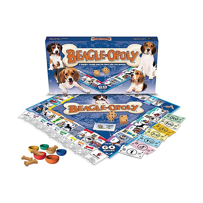 Alternate image 1 for Late For The Sky Beagle-opoly Game