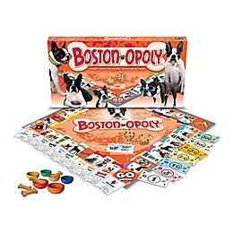 Late For The Sky Boston Terrier-opoly Game