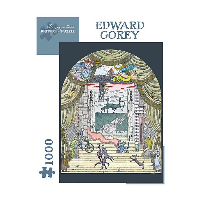 Alternate image 1 for Edward Gorey - Untitled 1000-Piece Jigsaw Puzzle