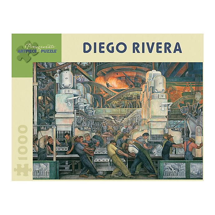 Alternate image 1 for Diego Rivera - Detroit Industry Puzzle 1000-Piece Jigsaw Puzzle