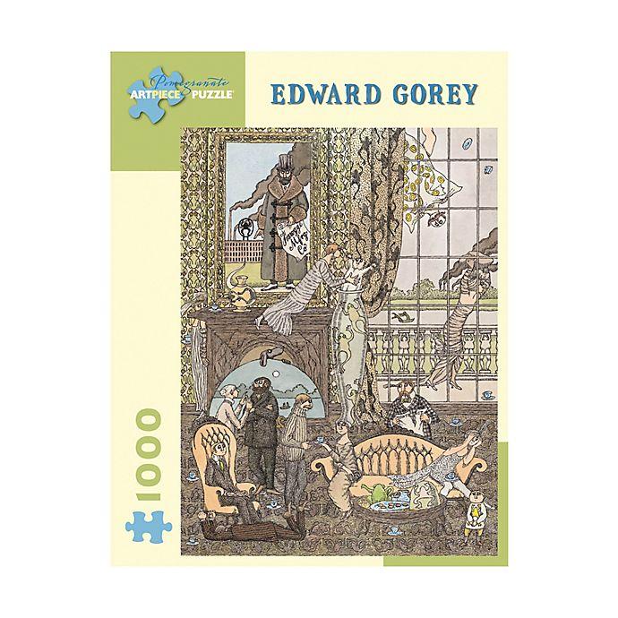 Alternate image 1 for Edward Gorey Frawgge Manufacturing Co. 1000-Piece Jigsaw Puzzle