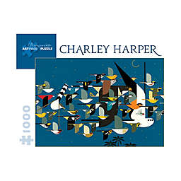 Charley Harper Mystery of the Missing Migrants 1000-Piece Puzzle