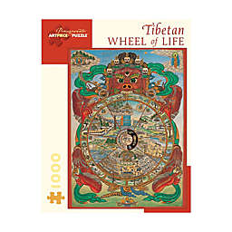 Tibetan Wheel of Life 1000-Piece Jigsaw Puzzle