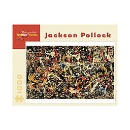 Jackson Pollock Convergence Puzzle 1000-Piece Jigsaw Puzzle