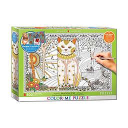 EuroGraphics Color-Me 500-Piece Magical Cat Puzzle