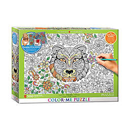 EuroGraphics Color-Me 500-Piece Tiger Puzzle
