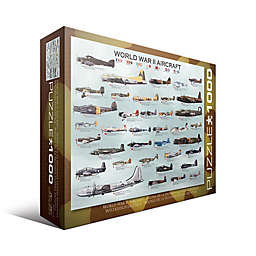 Eurographics Inc WWII Aircraft 1000-Piece Jigsaw Puzzle