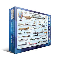 EuroGraphics History of Aviation 1000-Piece Jigsaw Puzzle
