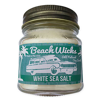 Beach Wicks Sea Salt Soy Jar Candle