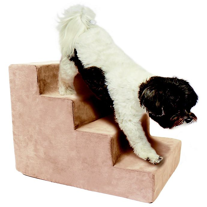 Alternate image 1 for Precious Tails High Density Foam 4 Steps Pet Stairs