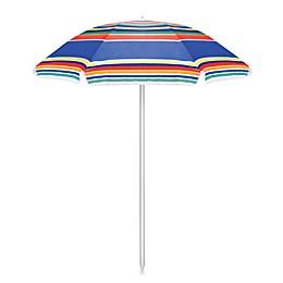 Picnic Time® Portable Umbrella in Stripes