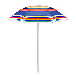 Picnic Time® Portable Umbrella in Stripes