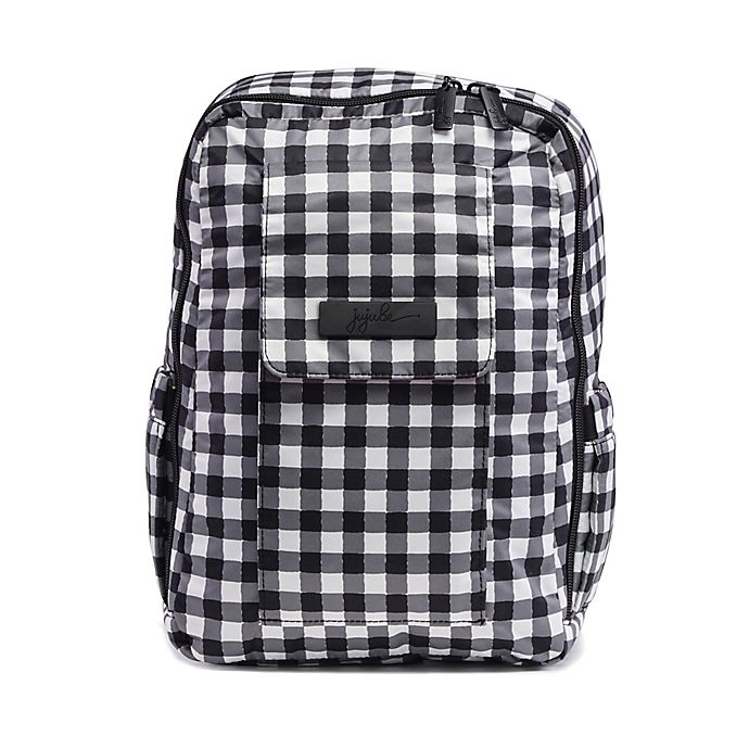 Alternate image 1 for Ju-Ju-Be® Onyx Minibe Diaper Bag in Gingham Style