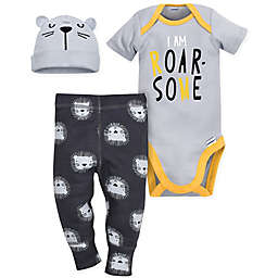 Gerber® Tiger 3-Piece Bodysuit, Pant and Hat Set
