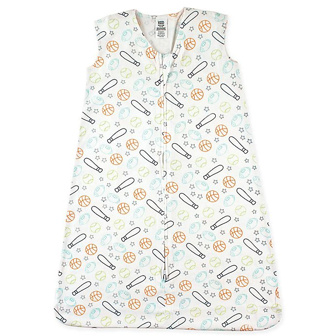 Alternate image 1 for Luvable Friends® Sports Cotton Jersey Sleeping Bag