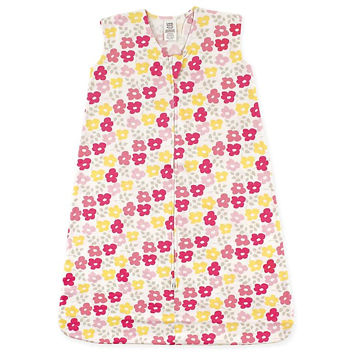 Alternate image 1 for Luvable Friends® Flowers Cotton Jersey Sleeping Bag