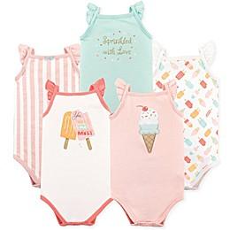 Hudson Baby® 4-Pack Ice Cream Sleeveless Bodysuits