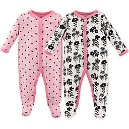 Luvable Friends® 2-Pack Snap-Front Sleep N Play Coveralls