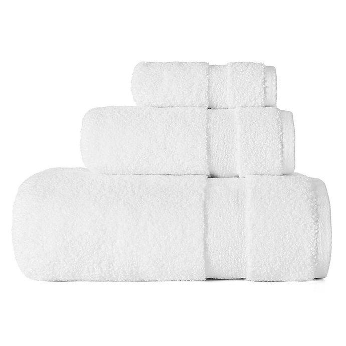 Alternate image 1 for ED Ellen DeGeneres Kindness Washcloth in White