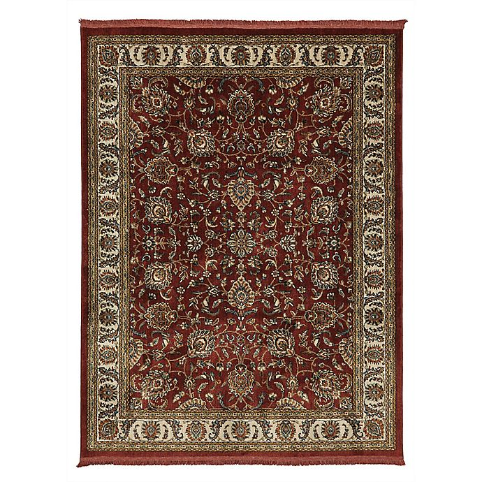 Alternate image 1 for Mohawk Home® Lafayette Woven Rug in Garnet