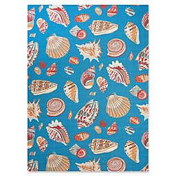 Nourison Low Tide Indoor/Outdoor Rug in Blue