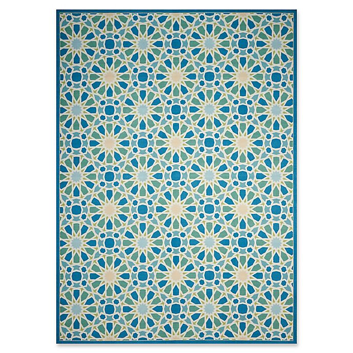 Nourison Waverly Sun Shade Indoor Outdoor Rug Bed Bath And