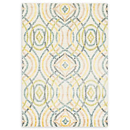 Loloi Rugs Venice Beach Madeline Geometric Rug in Ivory