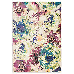 Loloi Rugs Madeline Floral 2' x 3' Accent Rug in Magenta