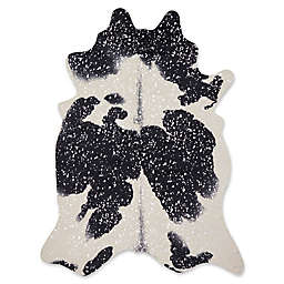 Loloi Rugs Bryce Area Rug in Black/Silver