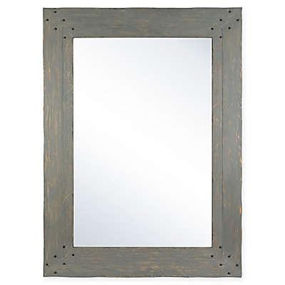 Columbia Frame Nailhead 33.5-Inch x 45.5-Inch Rectangular Wall Mirror