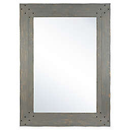 Columbia Frame Nailhead 33 5 Inch X 45 Rectangular Wall Mirror