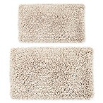 "Castlehill 2-Piece 20"" x 30""/21"" x 34"" Melbourne Bath Rug Set in Ivory"