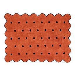 Lorena Canals Biscuit 4' x 5'3 Washable Area Rug