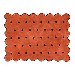 Lorena Canals Biscuit 4' x 5'3 Area Rug