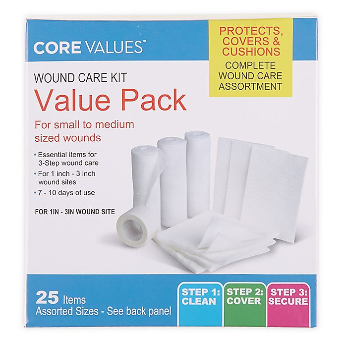 Alternate image 1 for Core Values™ 25-Piece Wound Care Kit