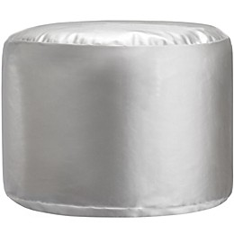 Little Seeds Metallic Pouf in Silver