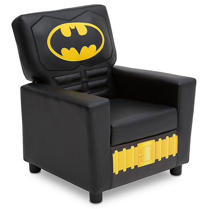 Alternate image 1 for DC Comics® Batman High Back Faux Leather Upholstered Kids Chair
