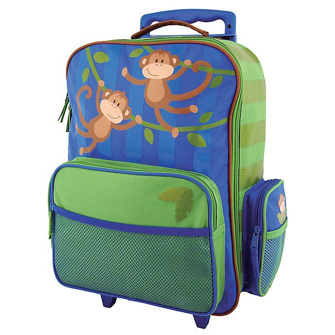 Alternate image 1 for Stephen Joseph® Monkey Classic Rolling Luggage