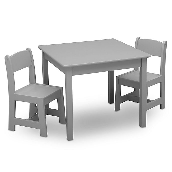 Delta Children Mysize 3 Piece Table And Chairs Set Bed Bath Beyond