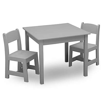 Delta Children Mysize 3 Piece Table And Chairs Set